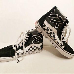 Vans Sk8 HI Japanese Checkerboard HighTop Sneakers